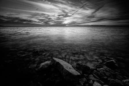 Moody Benbrook Lake Winter Sunset