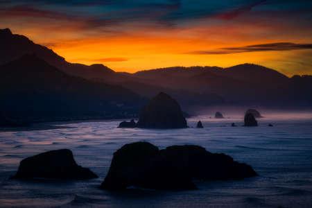 Golden Sunrise on the Oregon Coast