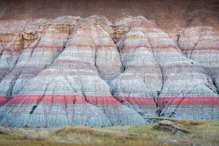Colorful Hills in the Dakota Badlands