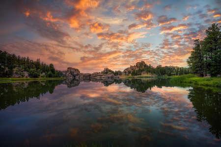 Magnificent Sunrise at Sylvan Lake