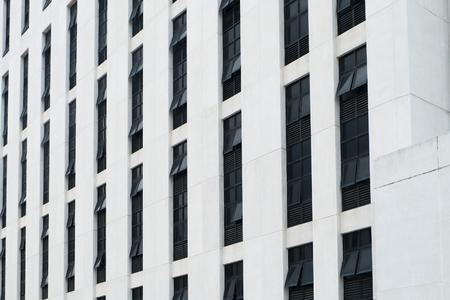 glazing: Close-up view of facade glazing