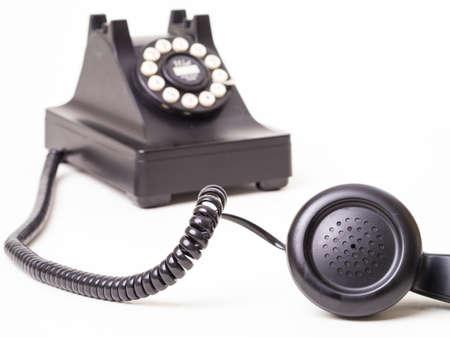 오래 된 전화 - 후크 해제