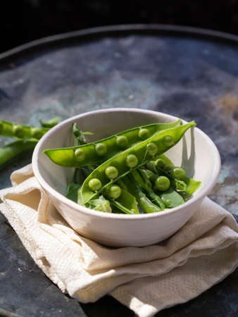 Fresh Picked Peas Imagens