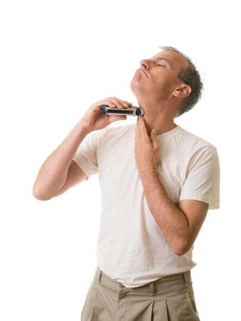 electric shaver: Risparmio uomo con rasoio elettrico