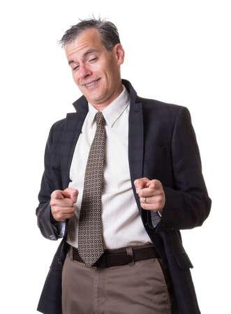Drunk Businessman 写真素材