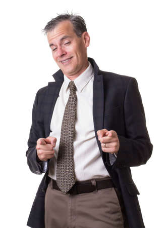 sleazy: Drunk Businessman Stock Photo