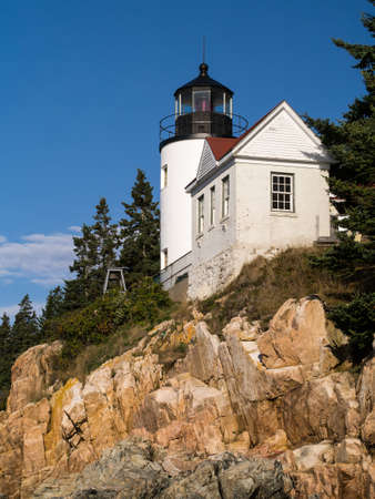 Bass Harbor Lighthouse Mount Dessert Island Maine