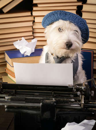 type writer: Writer Dog