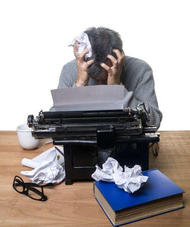 novelist: Frustrated Writer