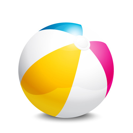 beach ball Stock Vector - 33838309