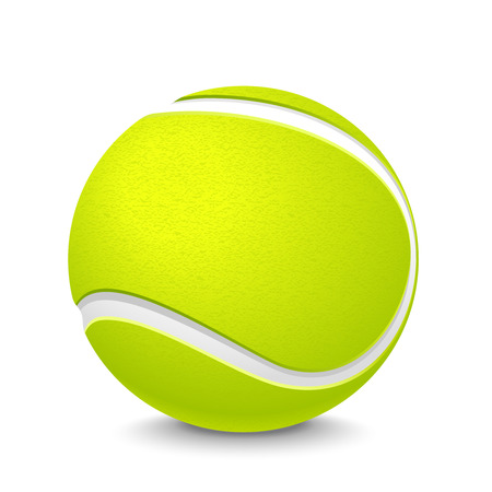 tennis ball Ilustrace