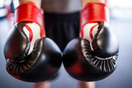 boxing gloves close-up Imagens