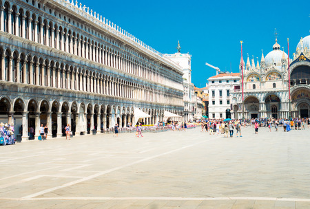 piazza san marco: Piazza San Marco in Venice
