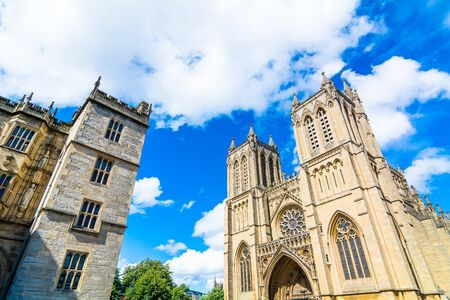 historic sites: historic sites in the city of Bristol, England Stock Photo