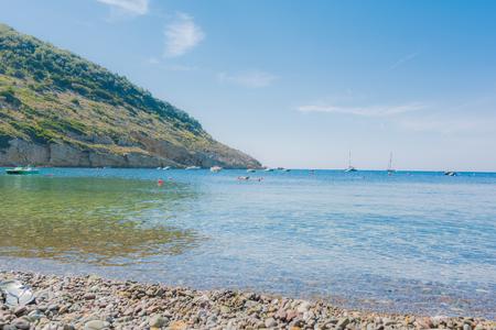 elba: Beaches of the Elba Island in Tuscany
