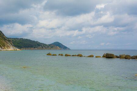Beaches of the Elba Island in Tuscany