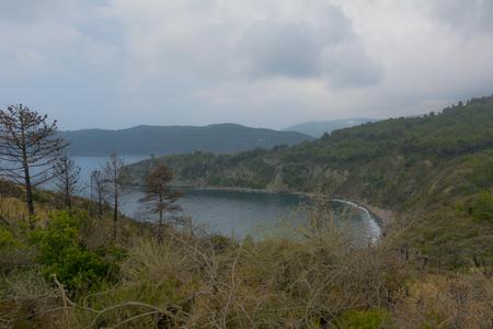 Acquarilli Beach on Elba Island