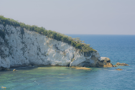elba: Sottobomba Beach at Elba Island in Tuscany