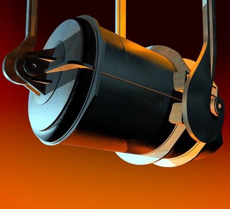 moulder: Melting ladle