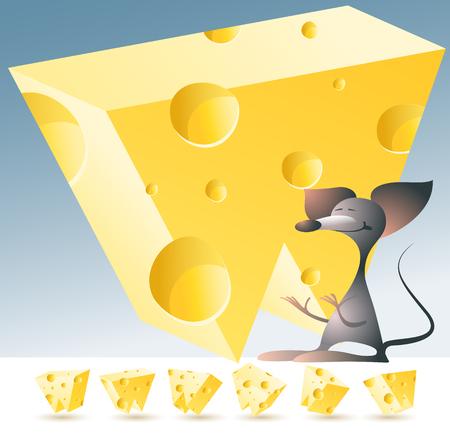 Alfabeto del vector 3D con el ratón del queso amarillo divertido. Todos los símbolos en conjunto tienen 6 puntos aleatorios de vista. Letra W Foto de archivo - 45967925