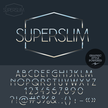 sportcar: Silver logo design for luxury car and sportcar shop. Vector set of letters, numbers and symbols.