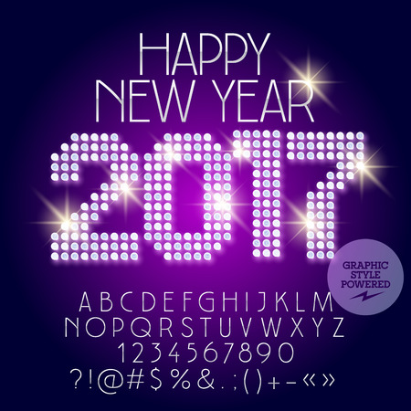 Vector light up disco happy new year 2017 greeting card with vector light up disco happy new year 2017 greeting card with royalty free cliparts vectors and stock illustration image 67735220 m4hsunfo