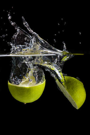 lime slice: Fruit splash