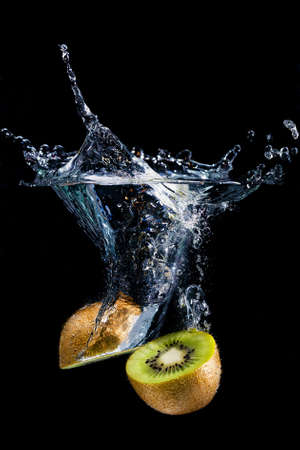 Fruit splash photo