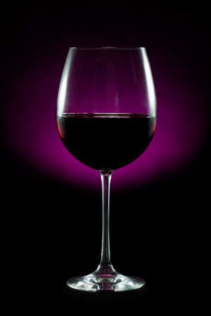 Red wine isolated on black background Stock Photo - 16025596