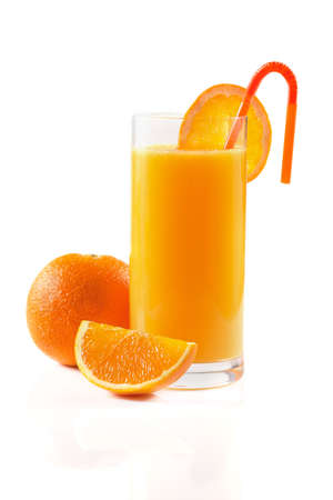 Orange juice breakfast photo