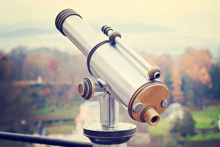 antique binoculars: Monocular in Austria