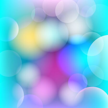 Abstract background with blurred circles.
