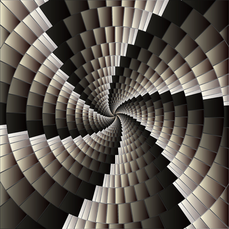 Abstract background with spiral