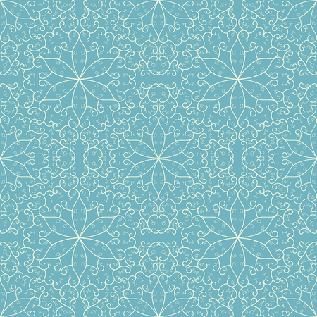 seamless floral lace pattern Illustration