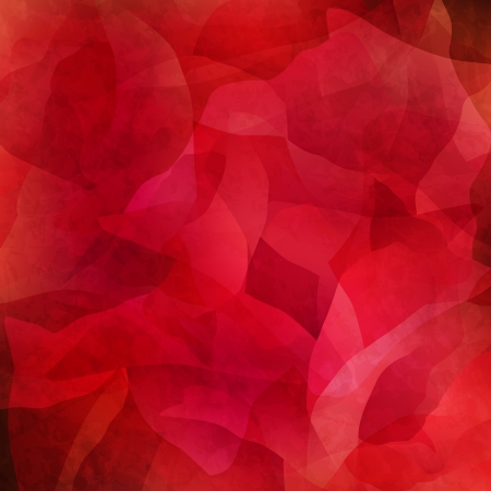 Abstract grungy red background Vector