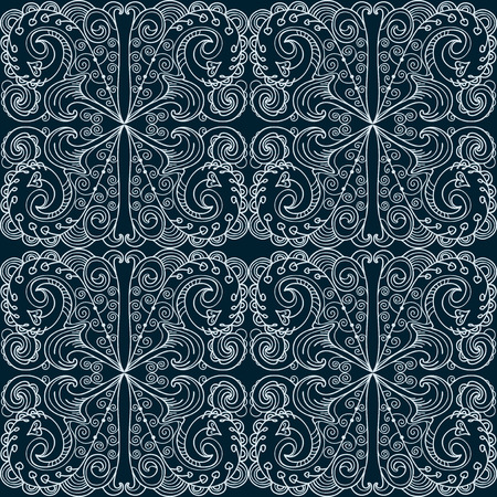 Seamless fancy pattern Vector