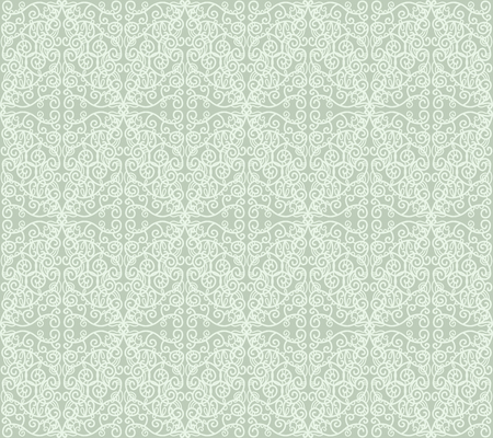 Seamless lace pattern, blue wallpaper Stock Vector - 23564786