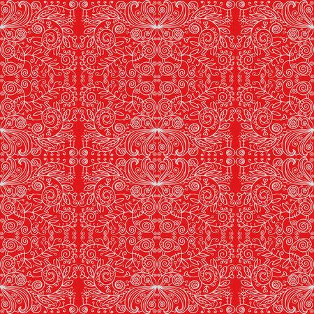 Fantasy seamless pattern. Cute baby wallpaper Vector