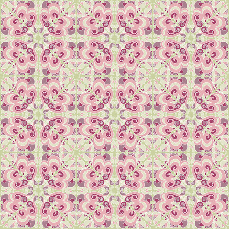 Vintage beautiful seamless pattern Vector