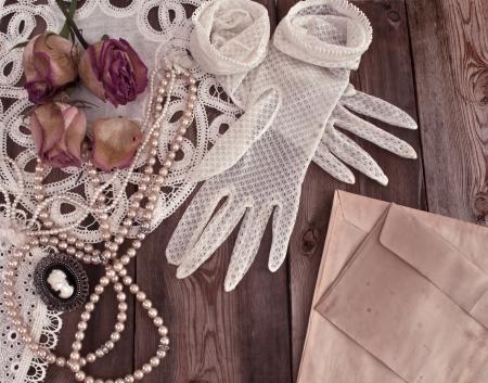 Vintage women gloves