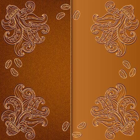 Cover design the menu for coffee