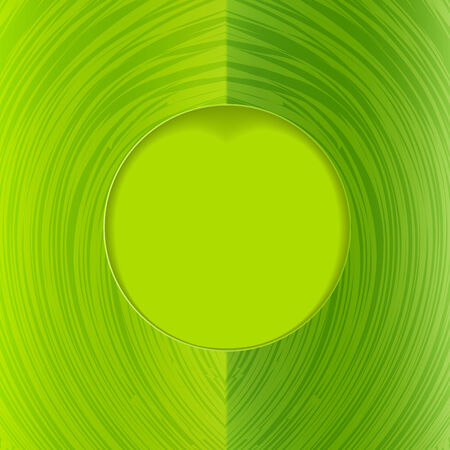 Green frame with texture space for your text