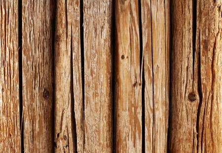 Travi in ??legno rotondi. parete di fondo o texture