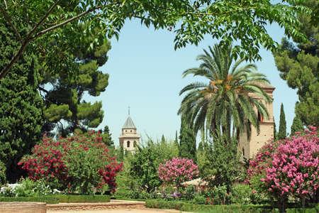 the  alhambra: alhambra granada Stock Photo