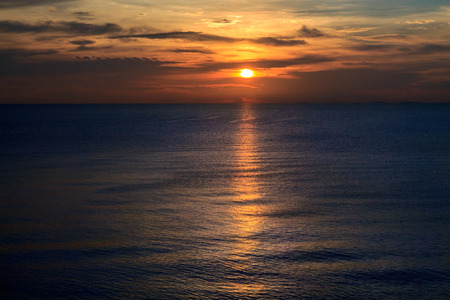 koh samet: Sunset on Koh Samet, Thailand