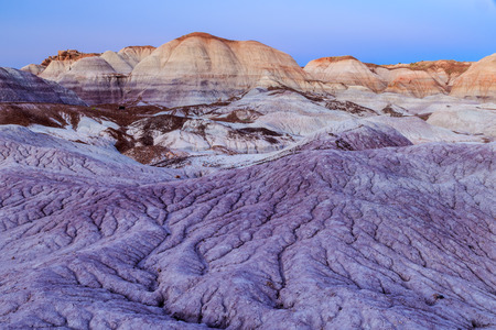 badlands: exotic, colorful badlands of the Painted Desert