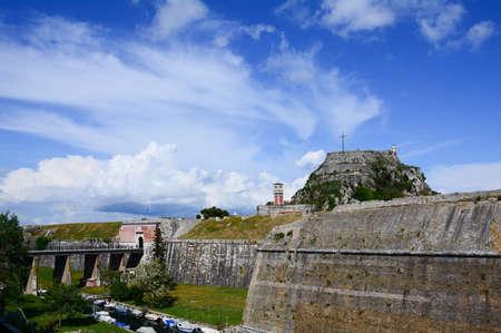corfu: the old fortress,Corfu,Greece