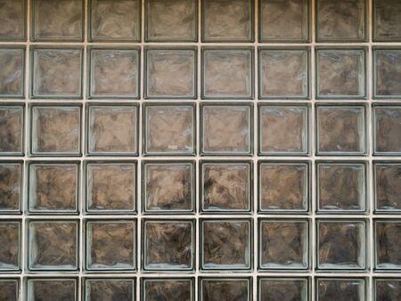 汚れたガラス ブロックのテクスチャのストック フォト