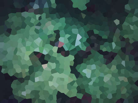 Abstract green mosaic background.
