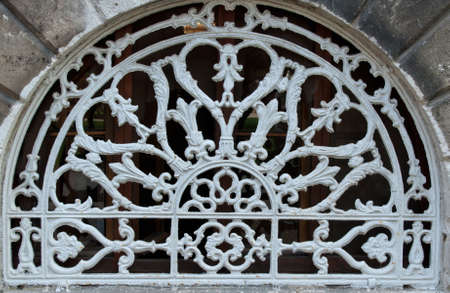 background texture, ornamental wrought-iron photo